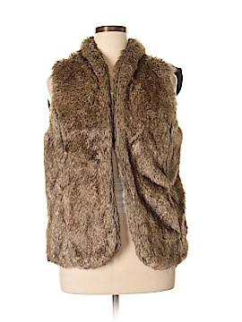 Sebby Faux Fur Vest Size XXL (Plus)