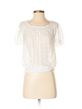 INC International Concepts Short Sleeve Blouse Size P