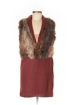 Zara Basic Wool Coat Size M