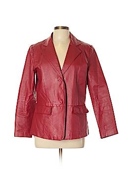 Chadwicks Leather Jacket Size 10