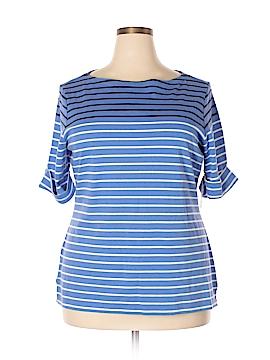 Kensie Short Sleeve T-Shirt Size 1X (Plus)