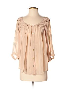 Bebe 3/4 Sleeve Blouse Size S