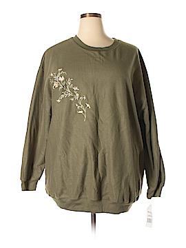 Basics Sweatshirt Size 3X (Plus)