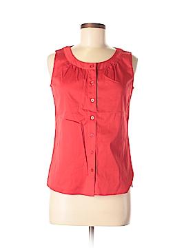 Van Heusen Sleeveless Button-Down Shirt Size XS
