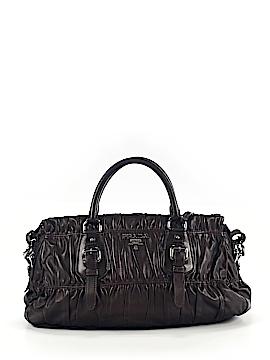 Prada Leather Satchel One Size