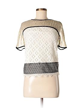 Corey Lynn Calter Short Sleeve Blouse Size 0