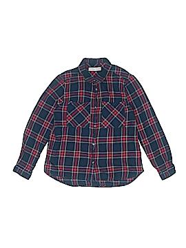 Zara Long Sleeve Button-Down Shirt Size 11 - 12