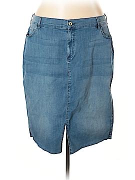 Tommy Hilfiger Denim Skirt Size 24 (Plus)