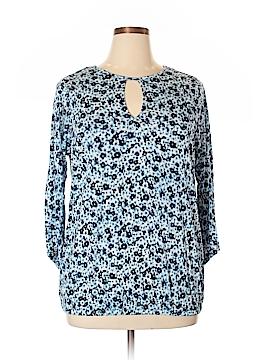 MICHAEL Michael Kors 3/4 Sleeve T-Shirt Size 0X (Plus)