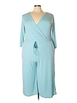 JM Collection Jumpsuit Size 3X (Plus)