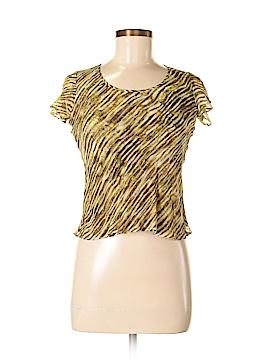 Jones New York Short Sleeve Silk Top Size 4