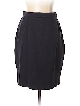 Yves Saint Laurent Variation Wool Skirt Size 10