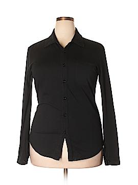 Mod-O-Doc Long Sleeve Button-Down Shirt Size 2X (Plus)