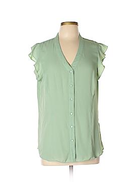 Myrtlewood Short Sleeve Blouse Size XL