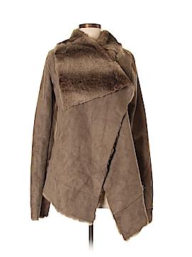 Alloy Faux Leather Jacket Size M