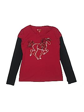 Copper Key Long Sleeve T-Shirt Size 14 - 16