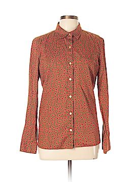 QMack Long Sleeve Button-Down Shirt Size XL