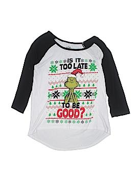 Dr. Seuss 3/4 Sleeve T-Shirt Size 11 - 13