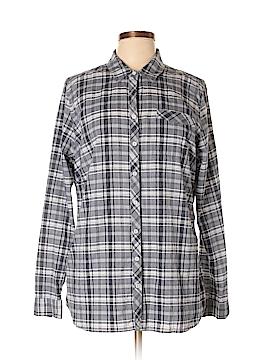 Eddie Bauer Long Sleeve Button-Down Shirt Size XL (Tall)