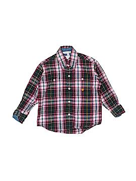 Cowboy Hardware Long Sleeve Button-Down Shirt Size 3T