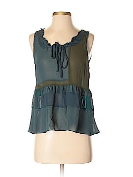Floreat Sleeveless Silk Top Size XS