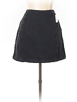 Moto Denim Skirt Size 10