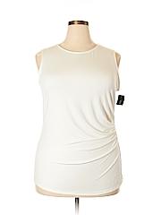 Alfani Women Sleeveless Top Size 2X (Plus)