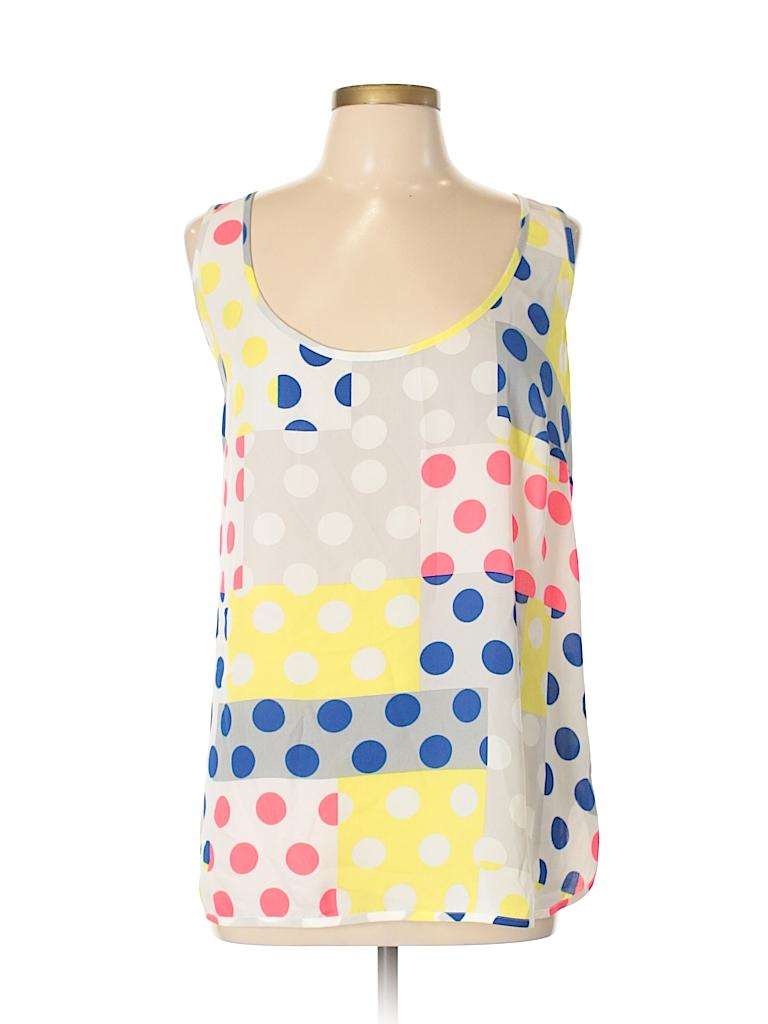 City Chic Women Sleeveless Blouse Size 16 Plus (S) (Plus)