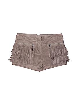 BCBGMAXAZRIA Faux Leather Shorts Size XXS