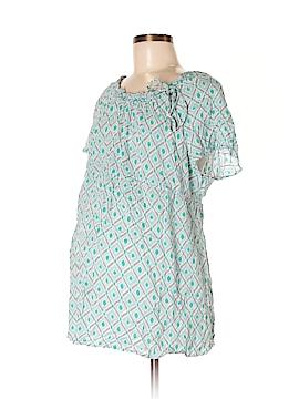 Gap - Maternity Short Sleeve Blouse Size M (Maternity)