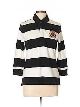 Lauren Jeans Co. 3/4 Sleeve Polo Size L