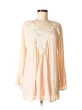 Pink Blush 3/4 Sleeve Blouse Size S