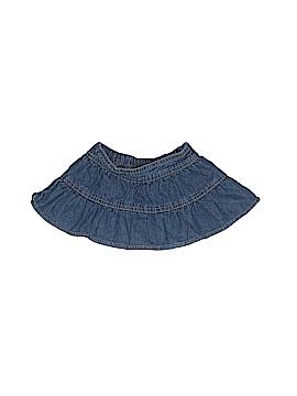 Faded Glory Denim Skirt Size 6-9 mo
