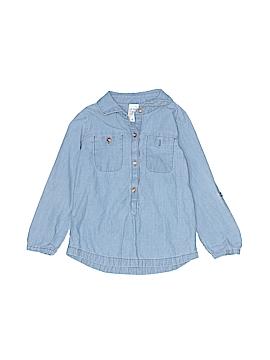 Cherokee Long Sleeve Button-Down Shirt Size 3T