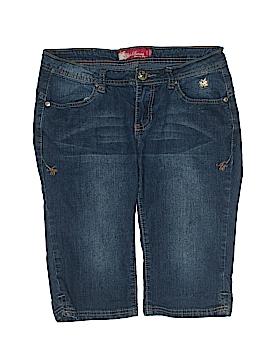 Apple Bottoms Denim Shorts Size 7/8