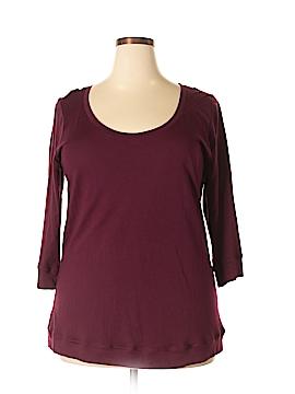 Torrid 3/4 Sleeve Blouse Size 3 (Plus)
