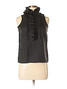 J. Crew Sleeveless Silk Top Size 0 (Petite)