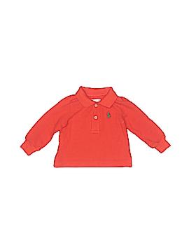 Ralph Lauren Long Sleeve Polo Size 3 mo