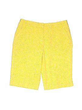Peserico Khaki Shorts Size 44 (IT)
