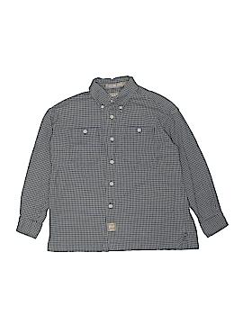 Arrow Long Sleeve Button-Down Shirt Size 10 - 12