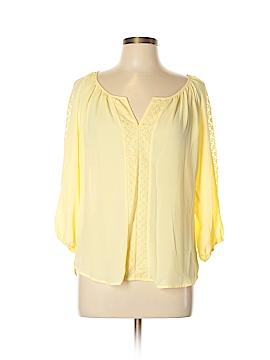 Heart Soul 3/4 Sleeve Blouse Size L