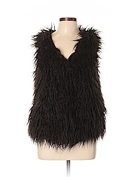 Willow & Clay Faux Fur Vest Size L