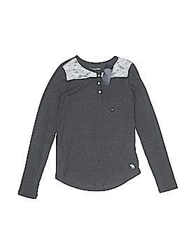 Abercrombie Long Sleeve Henley Size 13 - 14