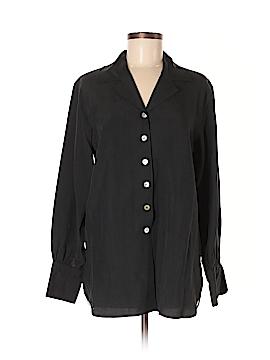 Tess Long Sleeve Silk Top Size M