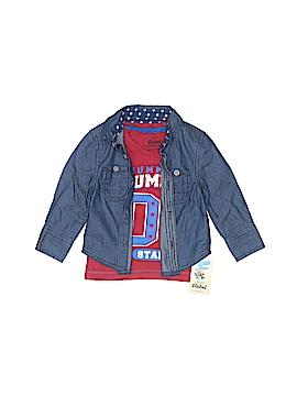 Rebel Denim Jacket Size 9-12 mo