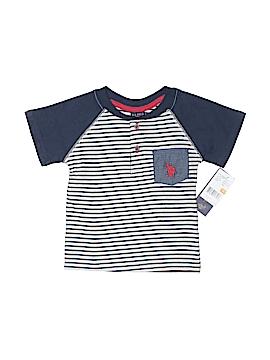 U.S. Polo Assn. Short Sleeve Henley Size 12 mo