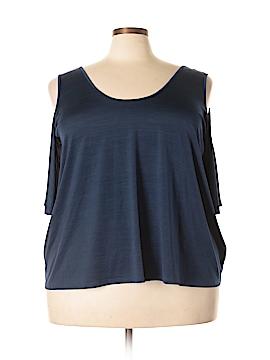 RACHEL Rachel Roy Short Sleeve Top Size 3X (Plus)