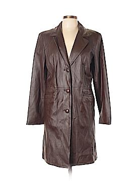 Covington Leather Jacket Size L