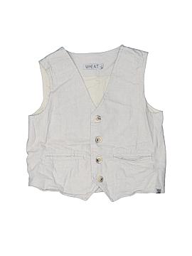 Wheat Tuxedo Vest Size 6