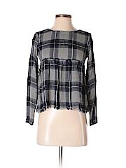 Mudd Women Long Sleeve Blouse Size XS